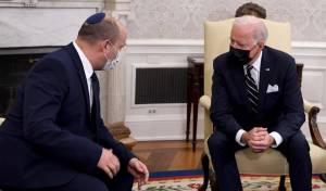 הסכם הגרעין: בנט הבטיח לביידן לא להפריע