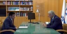 שר החוץ יאיר לפיד בריאיון בלעדי לישי כהן