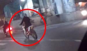 ברחובות תל אביב: מרדף אחר רוכב אופנוע