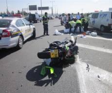 אילוסטרציה - רוכב אופנוע חרדי נפצע קשה בתאונה