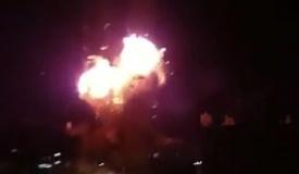 """וידאו: צה""""ל הפציץ את הטלוויזיה של חמאס"""
