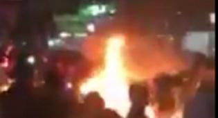 המהומות האלימות - מחאה אלימה בעזה בשל מחסור בחשמל