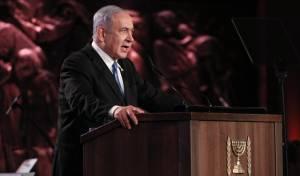 ראש הממשלה נאם בטקס המרכזי: לא תהיה שואה נוספת
