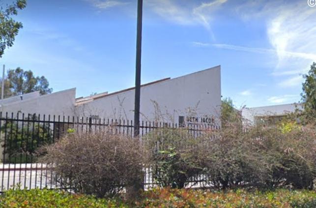 בית הכנסת 'בית יעקב' שספג אתמול את כתובות הנאצה