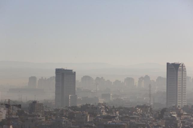 רמת גן בערפילי בוקר