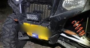 רכב השטח שנגנב - מארבים ותצפיות: כך נתפסה חוליית פורצים