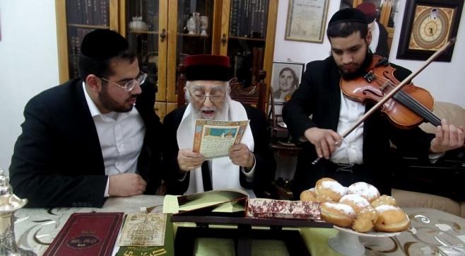התיעוד האחרון של הגאון  רבי יהושע מאמאן