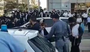 הפלג חסמו את בני ברק; 40 נעצרו • צפו