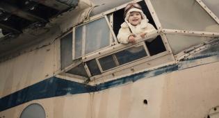 תינוק נולד בטיסה וזכה בטיסות חינם כל חייו