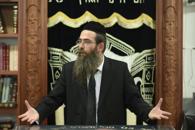 הרב אשר יחיאל קסל בהרצאה בישיבת אורייתא עפולה.