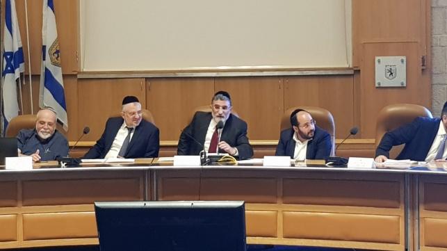י-ם: הוועדה אישרה הקצאות חרדים תקועות