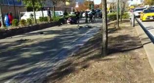 זירת האירוע - שמונה נרצחו בדריסה בלב מנהטן; 'הנהג צרח אללה אכבר'