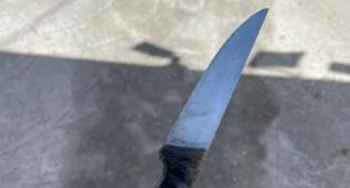 הסכין של החשוד