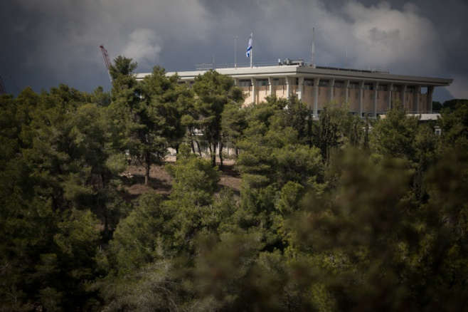 ירושלים של גשם • גלריה באפור ירוק