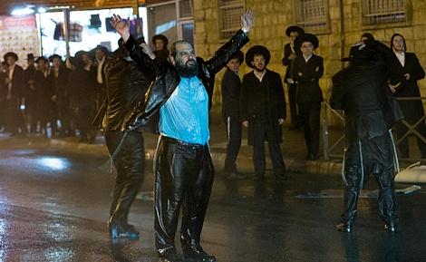 הפגנה 'הפלג'. ארכיון - היום: 'הפלג הירושלמי' יוצאים שוב להפגין