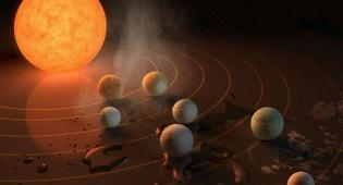 הטמפרטורה החזויה על כוכבי הלכת במערכת. המרכזיים יכולים לקיים מים נוזליים על פניהם - התגלתה מערכת שמש עם 7 כוכבי לכת דמויי כדור הארץ