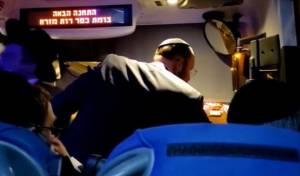 תיעוד הנסיעה אמש, באוטובוס מירושלים למודיעין עילית