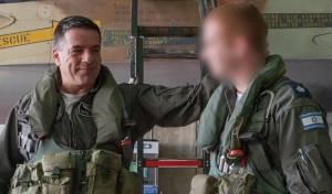 רב סרן ע' ומפקד חיל האוויר - רב סרן א' חזר לטייסת וטס עם מפקד החייל