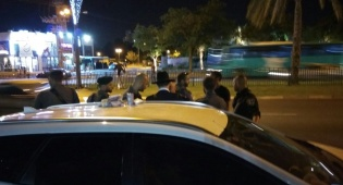 אחד המעצרים - המעצר במצעד בגלל סכין לחיתוך קרטונים