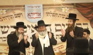 """האדמו""""ר רבי יקותיאל אבוחצירא ביקר בישיבה החסידית"""