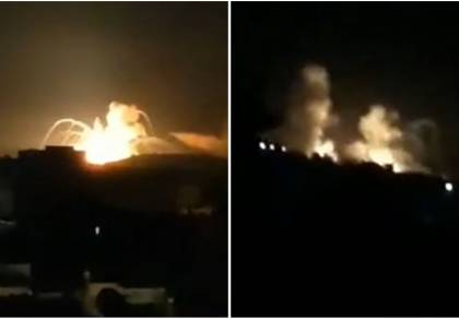 התקיפה הלילה בסוריה