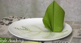 צפו: כך תעצבו שולחן חג עם אוריגמי