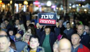 """הפגנה באשדוד - """"לפתוח כבישים בשבת ברובע ז' באשדוד"""""""