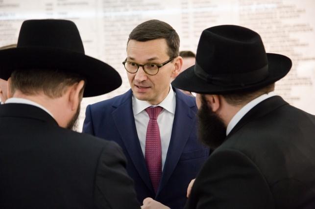 ראש ממשלת פולין מתאוש מורביצקי
