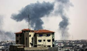 """בתגובה להפרחת בלוני התבערה: צה""""ל תקף יעדי חמאס"""