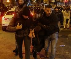 ההפגנה בירושלים, הלילה