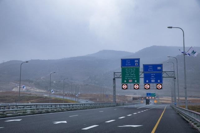 המקטע החדש של כביש 6 שנפתח בשבוע שעבר