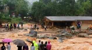 אזור האסון - סיירה לאון: כאלף הרוגים במפולת בוץ גדולה