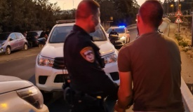 נהריה: שוטר נדרס למוות, חשוד נמלט ונעצר