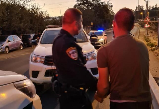 מעצר החשודים