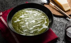 מרק ברוקולי וכרישה בצבע עז ומלא בריאות - מרק ברוקולי וכרישה בצבע עז ומלא בריאות