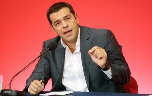 ראש ממשלת יוון אלכסיס ציפראס