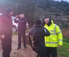 נחל חילזון: הצעיר הנעדר אותר, מצבו אנוש