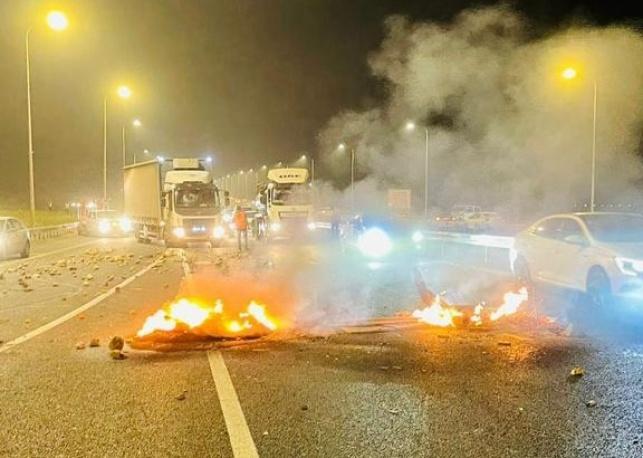 ליל המהומות: ערבים התפרעו ברחבי הארץ