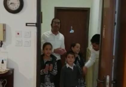 ליל הסדר: ילדים ריגשו את השכנה המבוגרת