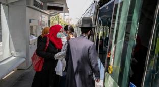 שיבושים ברכבת הקלה: נהג נדבק ב'קורונה'