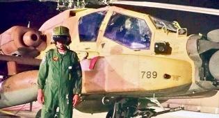 סגן אלוף ל' - הטייס משחזר: 'הוא חצה את הגבול - ויירטנו'