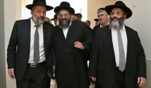 הרבנים אברג'ל ודרעי. ארכיון