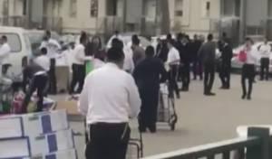 לא נתפס: 'שוק מאולתר' בלב העיר החרדית