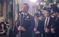 ניו ג'רסי: חזן הקהילה הסורית ריגש בחתונת בנו