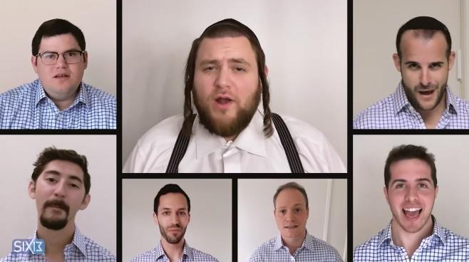 להקת Six13 מארחת את מיטב הזמרים החסידיים