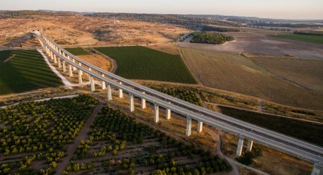 קו הרכבת בין ירושלים לתל אביב