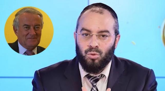 הרב נחמיה רוטנברג והנגיד פריד