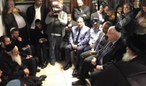 הנשיא וראש העיר ניחמו את משפחת כהן