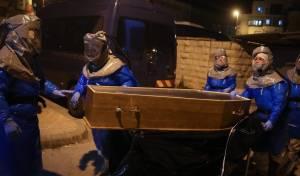 לוויה של חולה קורונה בישראל