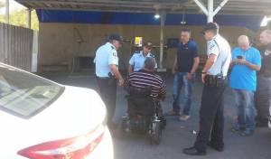 הדיונים עם נציגי המשטרה, לפני החסימה